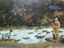 CHRISTOPHER GREEN - FLY FISHING - COMMISSIONED BY BARBOUR OF SOUTH SHIELDS