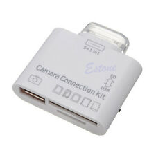 USB 5 In 1 Camera Connection Kit SD TF Card Reader Adapter For iPad 2 3
