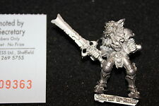 Warhammer Citadel Chaos Champion of Khorne Fleshhound Head Metal Figure Lord OOP