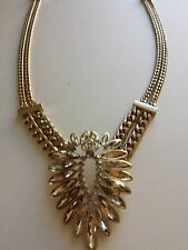 Givenchy Necklace Gold Tone New Over Stock With Tags 60414618-887