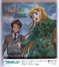 "Gundam 00 background song CD "" Love today / Taja "" Free shipping from Japan"
