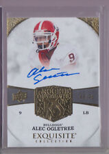 2013 Upper Deck Exquisite Alec Ogletree Auto Rc serial# to 70 - Best Rc HOT!!
