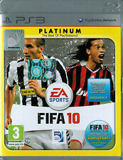 FIFA 10 platinum - PS3 - come nuovo! - TUTTO ITA -  Idea Regalo!