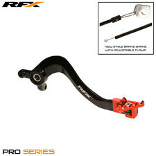 NEW RFX Pro FT Trick Bling Rear Brake Lever Pedal Orange For KTM SX85 2003-2017