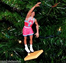 juwan HOWARD washington BULLETS basketball NBA xmas TREE ornament HOLIDAY jersey