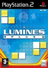 Playstation 2 LUMINES PLUS * PUZZLE FUSION *******  NEU
