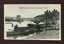 Wales Caenarfonshire CONWY Pleasure Boats Used 1956 RP PPC