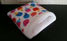 Guinea pig snuggle lit cuddle cup house sac rat hérisson petit pet rabbit