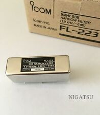 ICOM FL-223 SSB Narrow Filter for IC-775DX2/IC-756/IC-706MK2/IC-706MK2G/IC-746