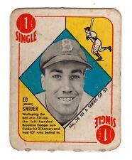 1951 Topps Red Back #38 Duke Snider HOF Dodgers VG-EX