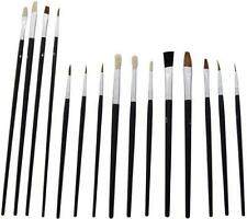 15pc Paint Brush Set Airfix Models Scenery Etc Model Makers Suit Warhammer / 40K