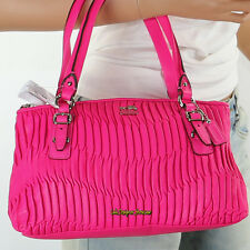 NWT Coach Madison Gathered Leather Small Shoulder Bag Hand Bag 45928 Pink RARE