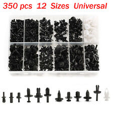 350 X 12size Car Push Retainer Trim Clip Panel Moulding Assortment Kit Pin Rivet