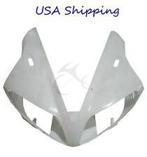 ABS Upper Cowl Front Fairing Nose For YAMAHA YZF R1 YZF-R1 2002-2003 Unpainted