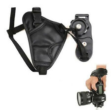 for Grip Hand Strap Wrist Pentax Canon Nikon DSLR Camera Sony Leather Universal