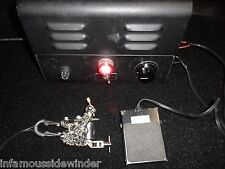 SPAULDING & ROGERS UNIT 1 TATTOO POWER SUPPLY TESTED WORKS GUN MACHINE PEDAL