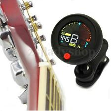 New Clip-on Chromatic Tuner Metronome Electric Guitar Bass Ukulele Banjo VIOLIN