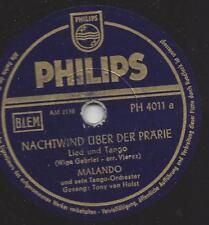 Malando Tango  Orchester mit Tony van Hulst Gesang : Nachtwind über der Prärie