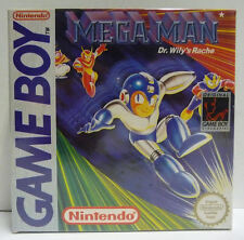 MEGA MAN DR. WILY'S RACHE - NINTENDO GAME BOY GB PAL REGION FREE BOXED