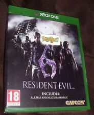 Resident Evil 6 HD Remake XBOX ONE XB1 NEW SEALED
