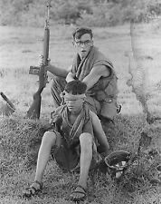"US Soldier guards a Captured North Vietnamese 8""x 10"" Vietnam War Photo 214"