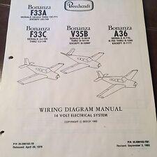 Beechcraft Bonanza F33A, F33C, V35B & A36 Wiring Manual