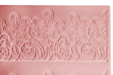 Large Lace Mat Floral Flower Mould sugar craft Silicone Cake cup cake decorating
