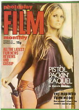 #T50. PHOTOPLAY FILM MONTHLY  MAGAZINE - NOVEMBER 1971, RAQUEL WELCH COVER