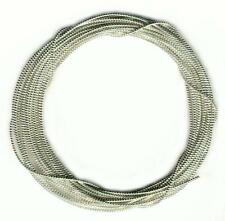"""171"""" Inches Silver Pearl Purl  Bullion Wire for Embroidery Jaceron French Cord"""