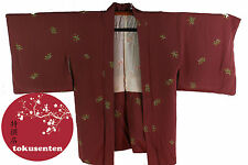 Kimono Haori Japonais MADE IN JAPAN NEUF NEW SOIE SILK EXQUISITE JAPANESE