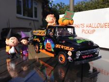 Franklin / Danbury Mint Peanuts Halloween Pickup Truck 1/24 Ford
