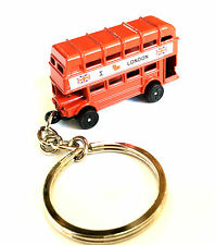 I Love London Bus Souvenir Miniature 3D key Ring British Gift Key Chain Brelock