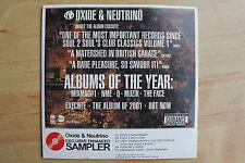 CD - Oxide & Neutrino Exclusive Enhanced Sampler 5 Tracks