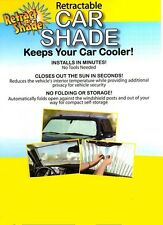 RETRACTABLE AUTO SUN SHADE - Car/Truck/SUV    Beat the HEAT!!