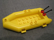 Lego YELLOW Dingy / Raft / Rowing Boat / Rigid Inflatable Craft / ship