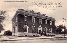 US SOUTH CAROLINA GEORGETOWN POST OFFICE POSTED 1907 TO JAMESTOWN NEW YORK