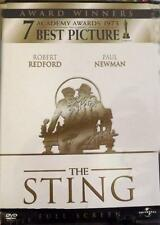 The Sting 1973 Paul Newman DVD NEW SEALED(Pan & Scan) Universal 1998