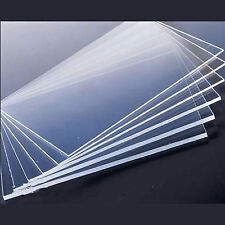 3mm Clear Plastic Acrylic Plexiglass Perspex Sheet A4 Size 210mm x 297mm