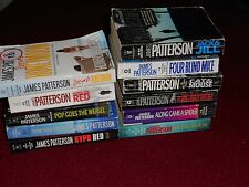 JAMES PATTERSON: U-Pick 1 or More PB Books: Pick from titles listed in listing