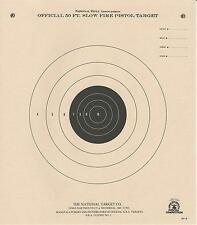B-2 [B2] NRA Official 50 Foot Slow Fire Pistol Target (500 pack) Tagboard