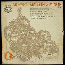 Mozart Mass 427 / Messe 427 Moralt Stich Randall Rössl-Majdan 2 x LP NM, BX VG+