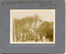 ROMA 1911 CELEBRAZIONI DEL 50° ANNIVERSARIO UNITà D'ITALIA VILLA MARGHERITA FOTO