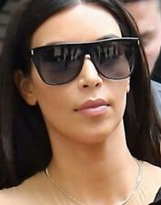 RARE NEW Genuine YVES SAINT LAURENT Black Celebrity Kim K Sunglasses SL 1 001