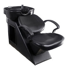 Backwash Unit Station Shampoo Bowl Sink Barber Chair Beauty Spa Salon Equipment
