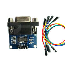 MAX3232 RS232 Serial Port To TTL Converter Module Transfer Chip W/ 4 Jump Cables