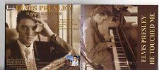 Elvis Presley - He Touched Me - Holland Promo -  Digi Pack CD