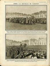 Prisoners of War Soldiers Deutsches Heer  Poilus Bataille de Carency 1915 WWI