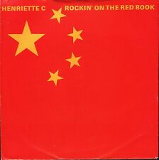 "HENRIETTE C rockin' on the red book/paddy field DOOR 007 back door 7"" PS EX/VG+"