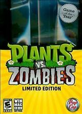 Plants Vs Zombies (Game of the Year Edition)  (PC, 2010) ESRB Everyone 10+ New