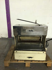 RECORD, DELTA BREAD SLICER,REFURBISHED, NEW BLADES, BAKERY EQUIPMENT